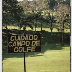 Photo taken at Clube de Campo de São Paulo - CCSP by Fernanda R. on 7/15/2012