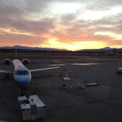 Photo taken at Burlington International Airport (BTV) by Aaron P. on 11/13/2011