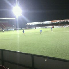Photo taken at The London Borough of Barking & Dagenham Stadium by Sarah T. on 12/6/2011