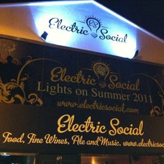 Photo taken at Electric Social by Yaw A. on 9/2/2011