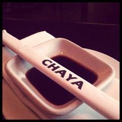 Photo taken at Chaya Brasserie by Matt S. on 7/8/2011