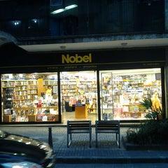 Photo taken at Nobel Livraria by Sergio T. on 3/14/2012