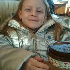 Photo taken at Caribou Coffee by Luke H. on 2/18/2012