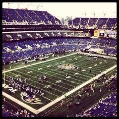 Photo taken at M&T Bank Stadium by Justin H. on 8/23/2012