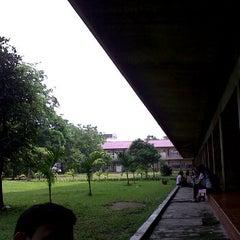 Photo taken at Univeritas HKBP Nommensen by Sean P. on 5/11/2012