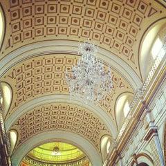 Photo taken at Iglesia San Pedro de Lima by Yovanni on 8/19/2012