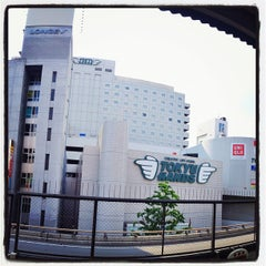 Photo taken at 江坂駅 (Esaka Sta.) (M11) by Jumpei I. on 5/10/2012