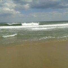 Photo taken at Asbury Park Beach by Corinne C. on 5/10/2012