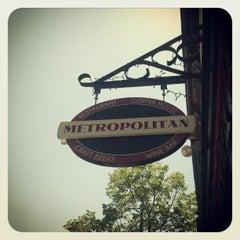 Photo taken at Metropolitan Coffeehouse & Wine Bar by Scott C. on 4/16/2012