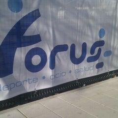 Photo taken at Polideportivo Javier Castillejo by Windu E. on 3/12/2012