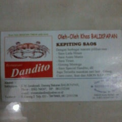 Photo taken at Dandito Seafood | Restaurant by Mas Agung L. on 6/11/2012