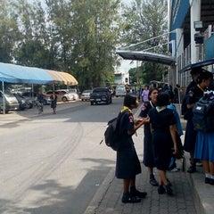 Photo taken at โรงเรียนฤทธิยะวรรณาลัย (Rittiyawannalai School) by AUMM_ZAA @. on 6/29/2012
