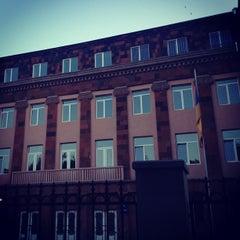 Photo taken at #8 Pushkin School by Hayk M. on 9/8/2012