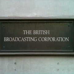 Photo taken at BBC Broadcasting House by Donny D. on 5/28/2012