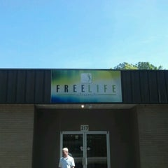 Photo taken at free life church by Amelia E. on 6/17/2012