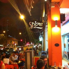 Photo taken at Spize by Sylvia N. on 7/20/2012