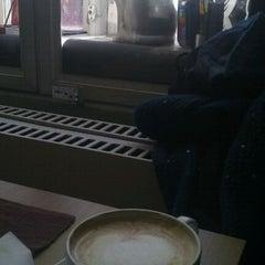 Photo taken at Café Strykjärnet by Anders A. on 3/4/2012