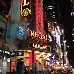 Photo taken at Regal Cinemas E-Walk 13 & RPX by Ruslan T. on 9/6/2012