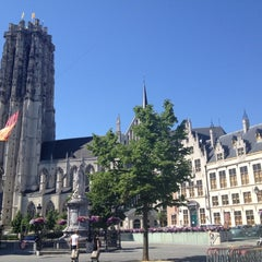 Photo taken at Grote Markt by Soubry F. on 5/28/2012