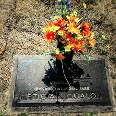 Photo taken at Rosewood Memorial Park by Bevan C. on 6/23/2012