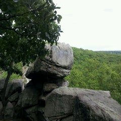 Photo taken at Rocks State Park by Chris K. on 5/20/2012