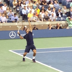 Foto tomada en Arthur Ashe Stadium - USTA Billie Jean King National Tennis Center  por chris G. el 8/30/2012