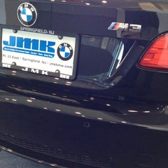 Photo taken at JMK BMW by Manny A. on 2/9/2012