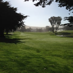 Photo taken at Half Moon Bay Golf Links by Sharon W. on 5/20/2013