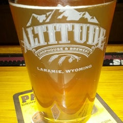 Photo taken at Altitude Chophouse & Brewery by David S. on 9/22/2012