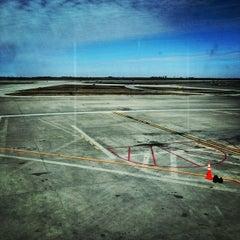 Photo taken at Kansas City International - Terminal B Parking by Jenna kim C. on 3/22/2014