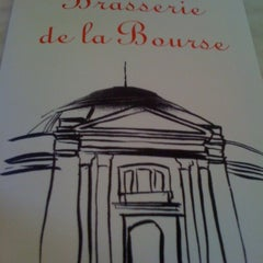 Photo taken at Brasserie de la Bourse by Princesse Z. on 10/19/2012