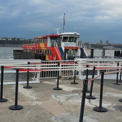 Photo taken at Gray Line New York Sightseeing Cruises - Pier 78 by Apichit A. on 10/8/2014