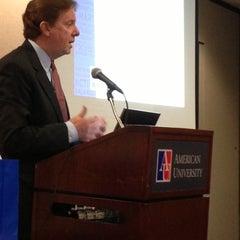 Photo taken at AU –Mary Graydon Center (MGC) by Denise E. on 5/15/2013