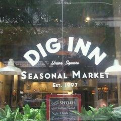 Photo taken at Dig Inn Seasonal Market by Abby D. on 6/16/2013