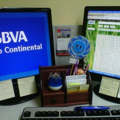 Photo taken at BBVA Continental by Rosita U. on 12/3/2012
