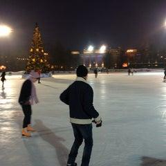 "Photo taken at Каток ""Южный полюс-Лужники"" by Vitalii L. on 1/31/2013"