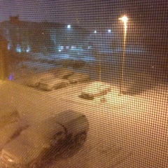 Photo taken at Holiday Inn Express & Suites Grand Rapids Airport by Michael K. on 11/18/2014
