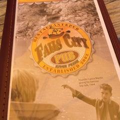 Photo taken at Falls City Restaurant & Pub by Kim E. on 7/5/2014