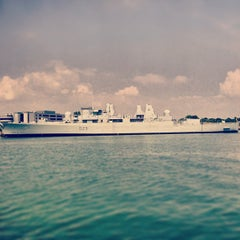 Photo taken at HM Naval Base by Frederic B. on 7/17/2013