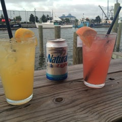 Photo taken at Harborside Bar & Grill by Mike P. on 9/20/2014