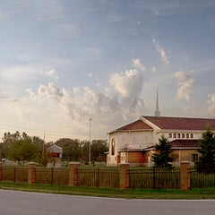 Photo taken at Hope Baptist Church by Stacey M. on 9/14/2012