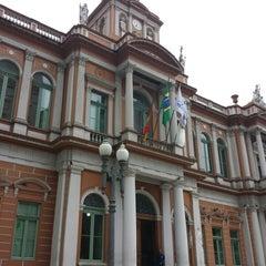 Photo taken at Paço Municipal by maurício c. on 3/19/2014