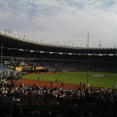 Photo taken at Stadion Utama Gelora Bung Karno (GBK) by Rosyid on 6/2/2013