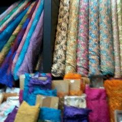 Photo taken at Toko Tekstil Kranggan (Jangkrik) by Dj'Lisa D. on 3/2/2014