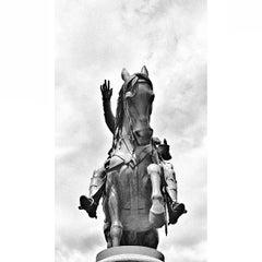 Photo taken at George Washington Statue by Robert S. on 5/13/2013