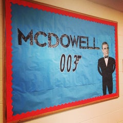 Photo taken at AU - McDowell Hall by Nicholas B. on 5/8/2014