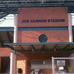 Photo taken at Joe Cannon Stadium by Jim M. on 3/25/2013