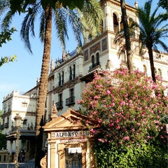 Photo taken at Hotel Alfonso XIII by Storm M. on 7/7/2013