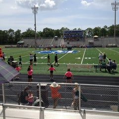 Photo taken at Barron Collier High School by Michele P. on 8/17/2013