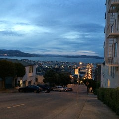 Photo taken at Fillmore Stairs by Hamdi B. on 3/24/2015